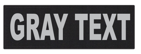 Custom Tactical Id Patches Fast Turnaround