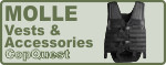 Molle Vests and Accessories