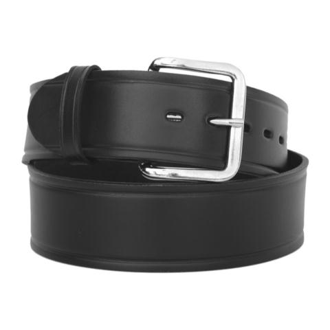 1.75-inch Plain Garrison Belt - Rounded Buckle