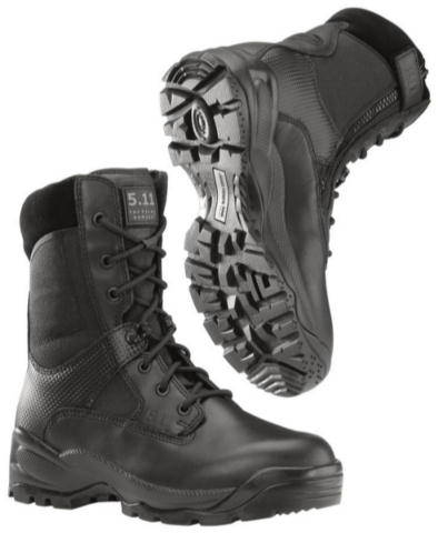 5.11 A.T.A.C. Side Zip 8-inch Boots - Black