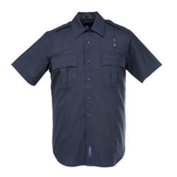 5.11 PDU Class A Poly/Cotton Twill S/S Shirt - Men's Larger Sizing