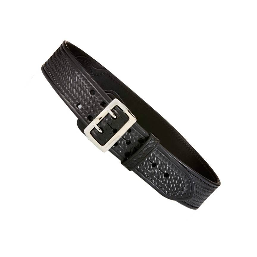 Aker B03 Sam Browne Belt, Half Leathered Lined