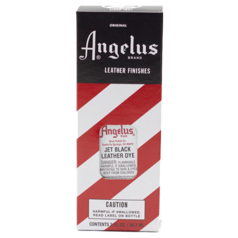 Angelus Leather Dye - 3.0 oz. - Black