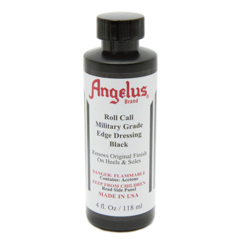 Angelus Roll Call Military Grade Edge Dressing, 4 oz. - Black