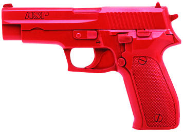 ASP Red Gun Handgun Exact Weight Training Replica - Sig P220/P226 9mm/.40/.45