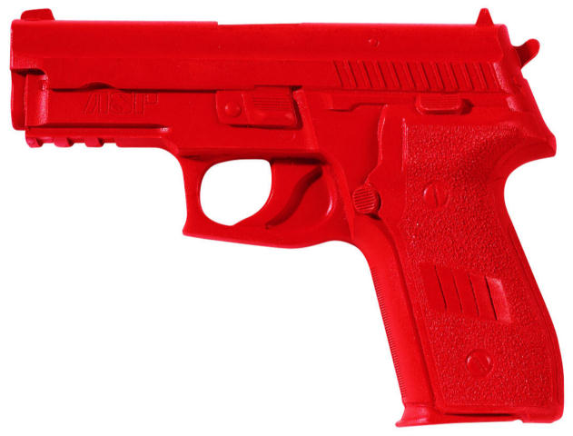 ASP Red Gun Handgun Exact Weight Training Replica - Sig P228/P229 9mm/.40