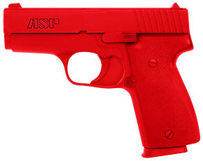 ASP Red Gun Handgun Exact Weight Training Replica - Khar 9mm/.40
