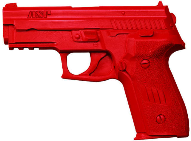 ASP Red Gun Handgun Exact Weight Training Replica - Sig P239 9mm/.357/.40