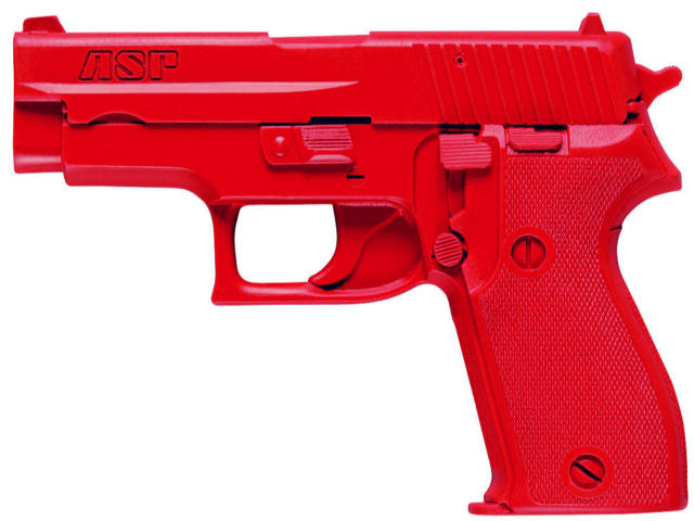 ASP Red Gun Handgun Exact Weight Training Replica - Sig P225