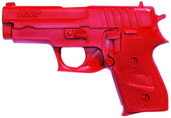 ASP Red Gun Handgun Exact Weight Training Replica - Sig P245