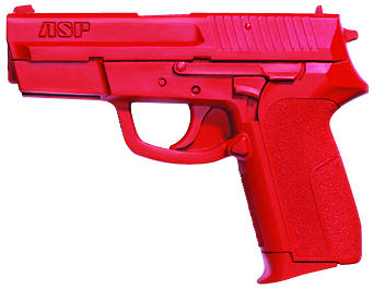 ASP Red Gun Handgun Exact Weight Training Replica - Sig Pro 9mm/.40