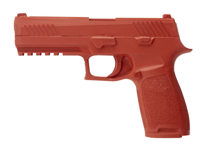 ASP Red Gun Handgun Exact Weight Training Replica - Sig P320 Full Size