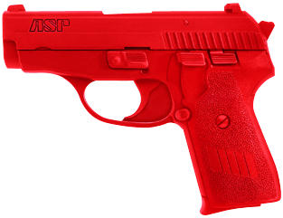 ASP Red Gun Handgun Training Replicas - Sig P239 9mm/.357/.40