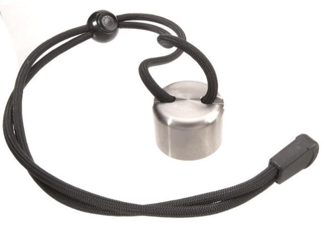 ASP Wrist Strap Cap - Stainless Steel
