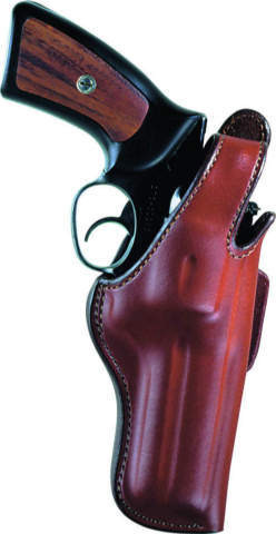 Bianchi 5BHL Thumbsnap Revolver Holster, Suede Lined