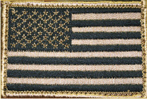 BlackHawk American Flag Patch