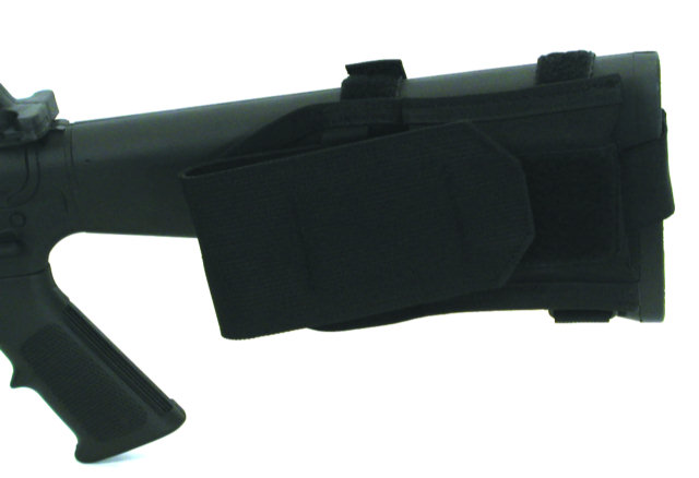 BlackHawk Buttstock Mag Pouch, Fixed Stock - Black