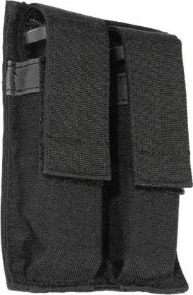 BlackHawk Double Pistol Mag Pouch - Black