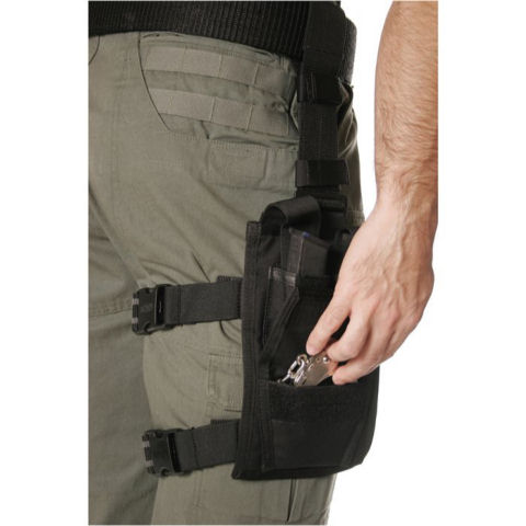 BlackHawk Omega Double Pistol Mag and Single Handcuff Pouch