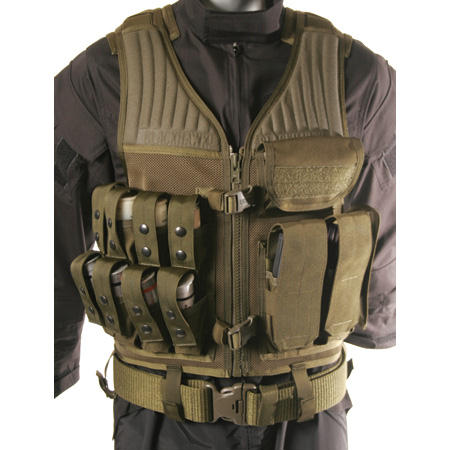 BlackHawk Omega Operator Vest - 40mm/Rifle - Olive Drab