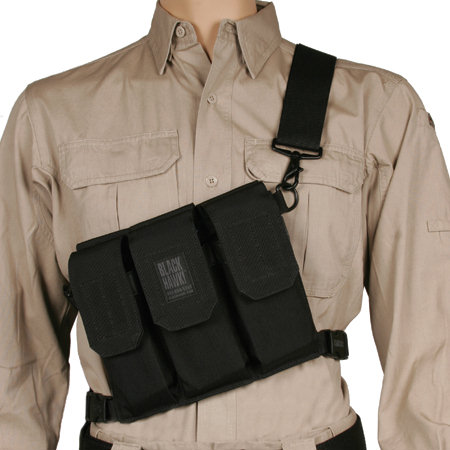 BlackHawk Rifle Bandoleer (Holds 6) - Black