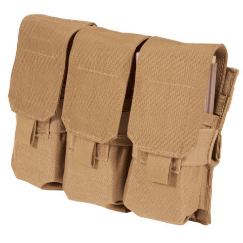 BlackHawk S.T.R.I.K.E. M4/M16 Triple Mag Pouch (Holds 6 Mags)