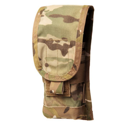 BlackHawk S.T.R.I.K.E. M4 Staggered Mag Pouch (Holds 2) - MultiCam