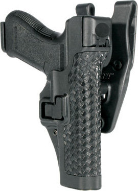 BlackHawk Serpa Level 3 Auto Lock Duty Holster - Basketweave