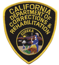 California Dept of Corrections and Rehabilitation - Shoulder Patch - Pair