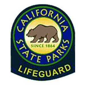 California State Parks Lifeguard Shoulder Patch - Pair