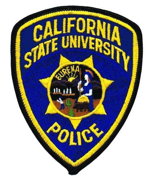 California State University - Shoulder Patch - Police - Pair