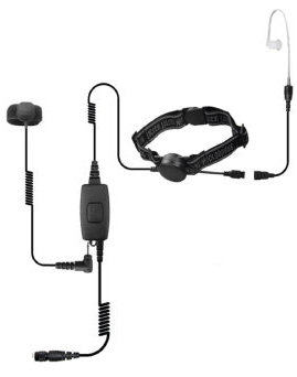 Cobra Throat Microphone - Mic Kit without Quick Release Adapter