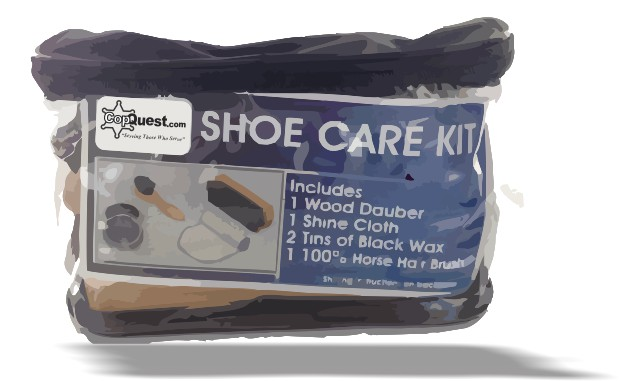CopQuest Boot and Shoe Care Kit