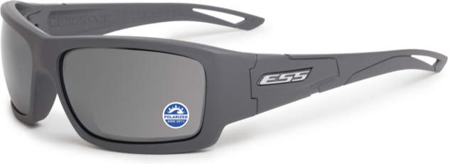 ESS Credence - Gray Frame w/Polarized Gray Lenses