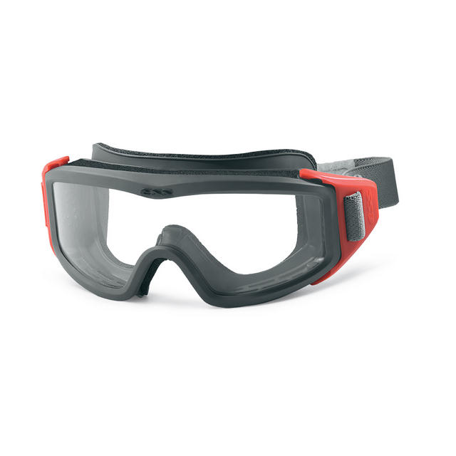 ESS FirePro-1977 FS Goggles - Low-Profile ANSI-Compliant with Wrap-Around Strap