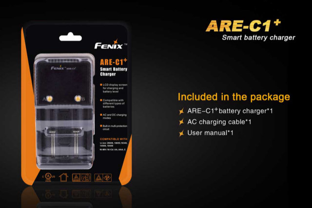 Fenix ARE-C1+ Two Bay Battery Charger