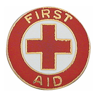 Image result for first aid pin