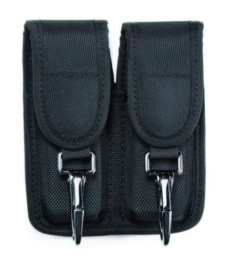 Hero's Pride Double Magazine Pouch with Key Clips - Medium