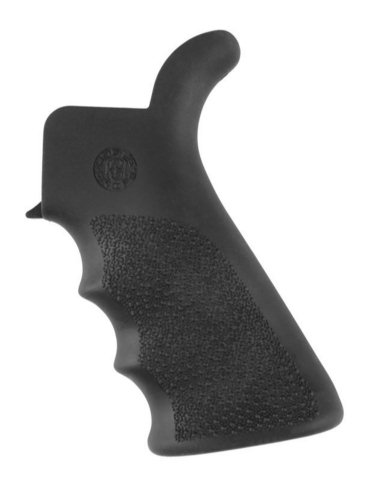 Hogue AR-15/M-16 Rubber Beavertail Grip with Finger Grooves