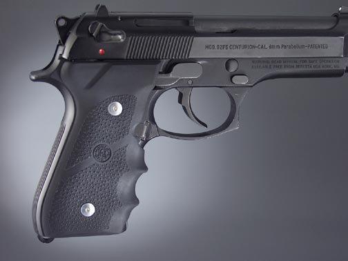 Hogue Molded Handgun Grips - Beretta 92/96 Series Full Size - 18% Off