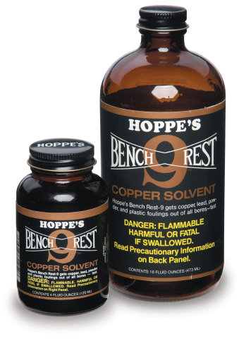 Hoppe's Bench Rest 9 Copper Solvent