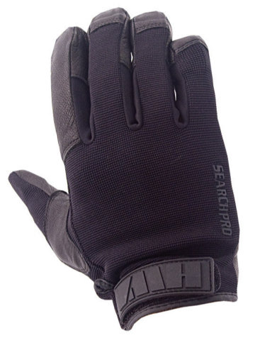 HWI PCG100 Search Pro Puncture Cut Protective Glove - Black