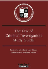 Law of Criminal Investigation Q/A