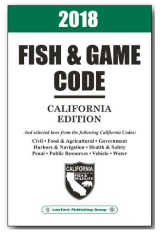 LawTech Fish and Game Code, California Edition