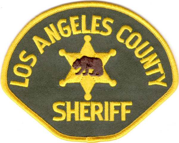 Los Angeles County Sheriff Department - Shoulder Patch - Pair