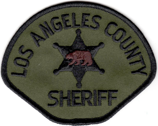 Los Angeles County Sheriff Department - Shoulder Patch - Subdued - Pair
