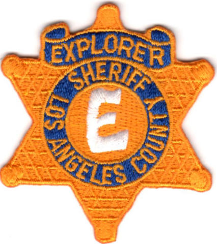 Los Angeles County Sheriff Department - Explorer - Star Badge Patch