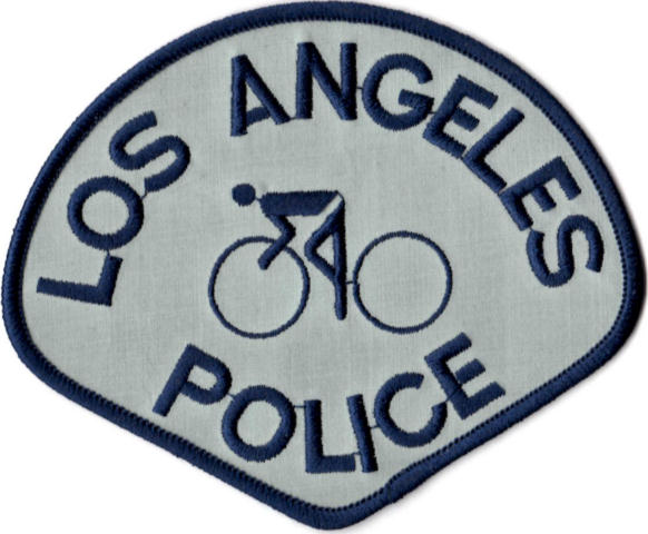 Los Angeles Police Department - Bike Patrol Right & Left Shoulder Patch - Pair
