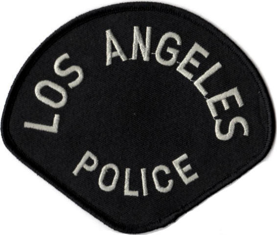 Los Angeles Police Department - POLICE Tactical Shoulder Patch - Pair