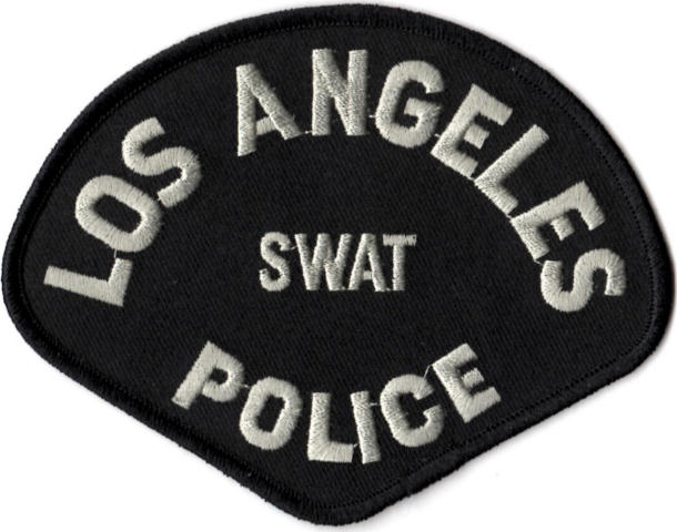 Los Angeles Police Department - SWAT Tactical Shoulder Patch - Pair